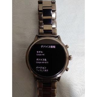 フォッシル(FOSSIL)のFOSSIL スマートウォッチ FTW4024(腕時計(デジタル))