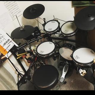 ローランド(Roland)のヤドカリ様専用 Roland 電子ドラムTD-25セット パッド類半分新品(電子ドラム)