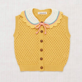 キャラメルベビー&チャイルド(Caramel baby&child )のmisha&puff Zoe Vest - Ochre(Tシャツ/カットソー)