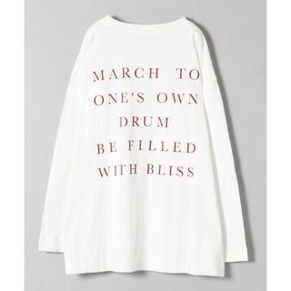 ジーナシス(JEANASIS)のジーナシス  バックロゴロンT(Tシャツ/カットソー(七分/長袖))