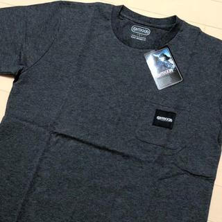 アウトドアプロダクツ(OUTDOOR PRODUCTS)の新品 チャコール L アウトドアプロダクツ ロゴタグ ポケット Tシャツ(Tシャツ/カットソー(半袖/袖なし))