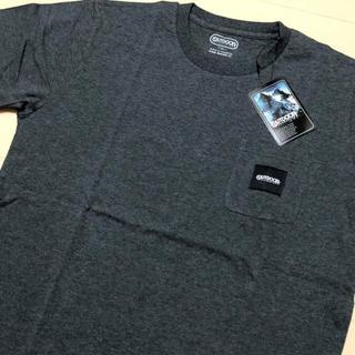 アウトドアプロダクツ(OUTDOOR PRODUCTS)の新品 チャコール XL アウトドアプロダクツ ロゴタグ ポケット Tシャツ(Tシャツ/カットソー(半袖/袖なし))