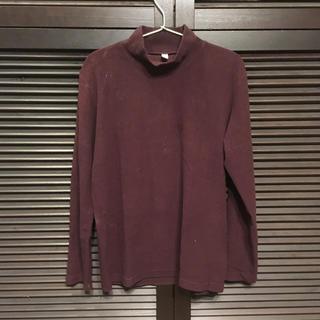 ユニクロ(UNIQLO)のユニクロ モックネック タートルネック ヒートテック ニット Tシャツ(ニット/セーター)