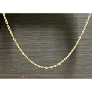 アヴァランチ(AVALANCHE)のK18 イエローゴールド スクリューチェーン ネックレス ユニセックス 幅2㎜(ネックレス)