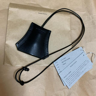 エンダースキーマ(Hender Scheme)の新品未使用Hender Scheme key neck holder black(その他)