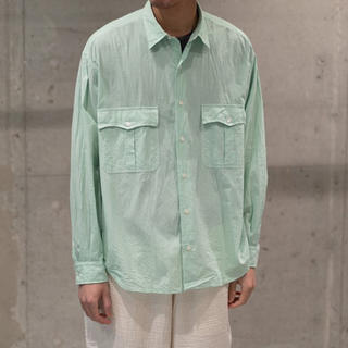 コモリ(COMOLI)のporter classic roll up shirt(シャツ)