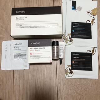 アモーレパシフィック(AMOREPACIFIC)のプリメラ オーガニック キット、マスク、ピーリング、サン クッション (パック/フェイスマスク)