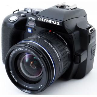 オリンパス(OLYMPUS)の✨オリンパス E-500 レンズセット✨スマホに送れる✨初心者向け✨(デジタル一眼)