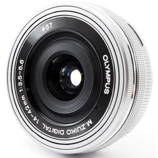 オリンパス(OLYMPUS)の❤️なめらか電動式ズーム 動画快適 ❤️オリンパス14-42mm EZ❤️(レンズ(ズーム))