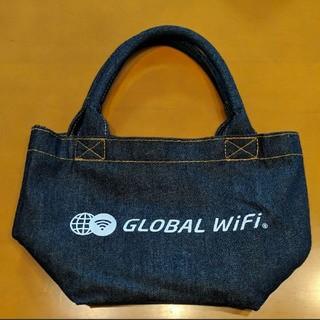 デニム エコバッグ グローバルWi-Fi ワGLOBAL WiFi トートバック(エコバッグ)