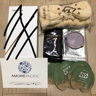 アモーレパシフィック(AMOREPACIFIC)のMAKEON メイクオン 美顔ローラー、HERA エイジ クッション、シカ 福袋(フェイスローラー/小物)
