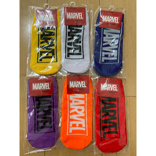 マーベル(MARVEL)の新品未使用❣️マーベル靴下 6足セット(ソックス)