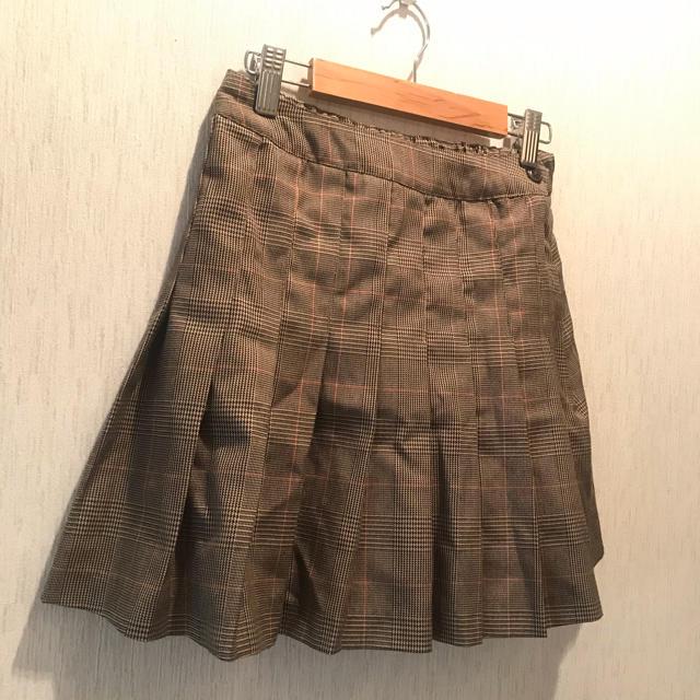 WEGO(ウィゴー)のWEGO チェック柄 プリーツミニスカート レディースのスカート(ミニスカート)の商品写真