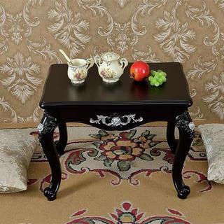 ローテーブル ダイニングテーブル ヨーロッパ風 ミニテーブルセンターテーブル (ローテーブル)