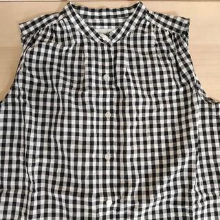 ルミノア(Le Minor)のVent d ouestのノースリーブシャツ(シャツ/ブラウス(半袖/袖なし))
