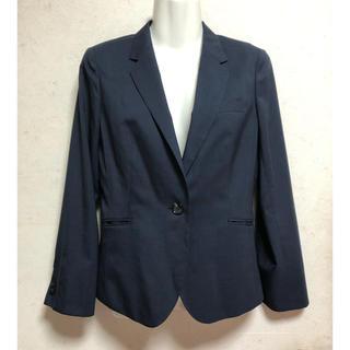 アオキ(AOKI)の新品未使用LES MUESスーツジャケットAOKI紺色ネイビー7号S春夏薄手(テーラードジャケット)