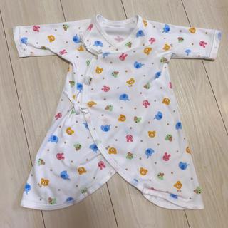 ホットビスケッツ(HOT BISCUITS)の新生児 コンビ肌着 ホットビスケッツ 60(肌着/下着)