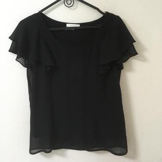 プロポーションボディドレッシング(PROPORTION BODY DRESSING)の袖フリル ブラウス(シャツ/ブラウス(半袖/袖なし))