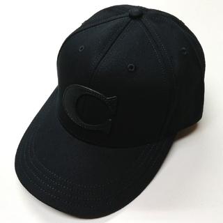 COACH - 【COACH★F75703】コーチ キャップ 帽子 ブラック 新品
