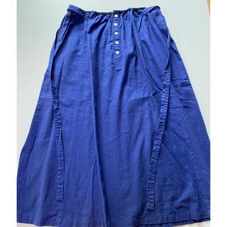 マリンフランセーズ(LA MARINE FRANCAISE)のマリンフランセーズ スカート  麻混(ロングスカート)