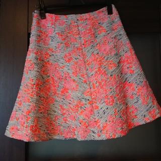 デミルクスビームス(Demi-Luxe BEAMS)のフレア スカート 値下げ!(ひざ丈スカート)