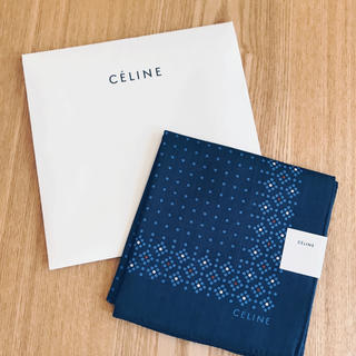 セリーヌ(celine)のCELINE ♥︎ メンズ 大判ハンカチ(ハンカチ/ポケットチーフ)