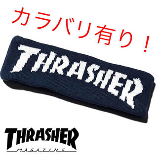 スラッシャー(THRASHER)のTHRASHER スラッシャー ヘアバンド  新品 未使用(その他)