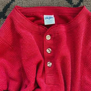 ビューティアンドユースユナイテッドアローズ(BEAUTY&YOUTH UNITED ARROWS)のピンク色サーマルロンtee pink thermal🕊(Tシャツ/カットソー(七分/長袖))
