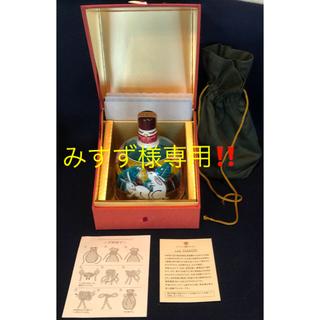サントリー(サントリー)の九谷焼 吉田屋風白兎丈 サントリー 特製ブランデー (ブランデー)