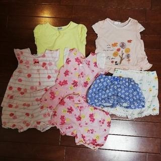ベベ(BeBe)の80サイズ 女の子 まとめ売り夏服セット(ワンピース)
