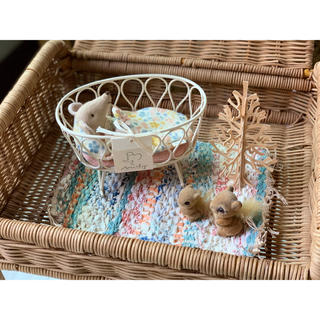 ボンポワン(Bonpoint)の*Maileg メイレグ Miniature Rug - Woven ②(その他)