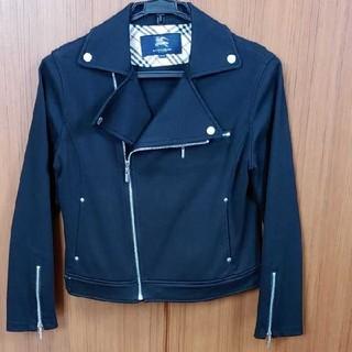 バーバリー(BURBERRY)の☆BURBERRY ライダースジャケット ブラック 160cm☆(ジャケット/上着)