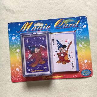 ディズニー(Disney)のマジックカード 手品 ディズニーランド トランプ(トランプ/UNO)