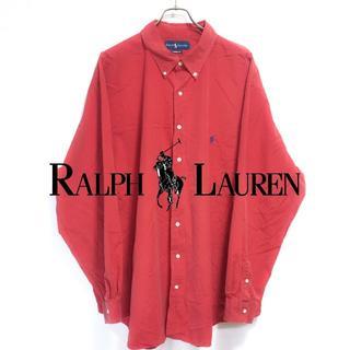 ラルフローレン(Ralph Lauren)の【USA古着】ラルフローレン ポロ 定番 ビジネス シャツ ビッグサイズ(シャツ)