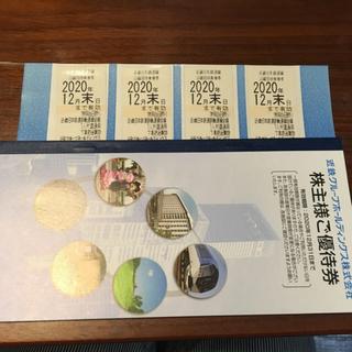 キンテツヒャッカテン(近鉄百貨店)の近鉄株主優待乗車券(鉄道乗車券)