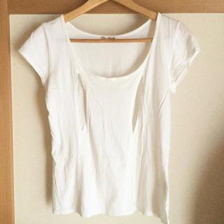 モーハウス(Mo-House)の授乳Tシャツ(マタニティトップス)