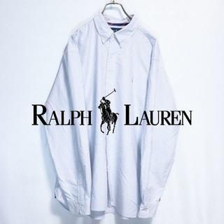 【USA古着】定番人気ラルフローレン ボタンダウン ビッグサイズ シャツ(シャツ)