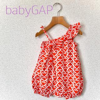 ベビーギャップ(babyGAP)のbabyGap バルーンロンパース サイズ80(ロンパース)