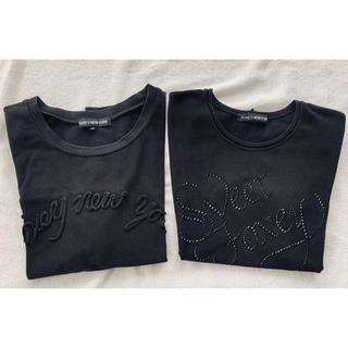 フォクシー(FOXEY)のフォクシーニューヨーク カットソー Tシャツ 40 2枚セット(Tシャツ(半袖/袖なし))