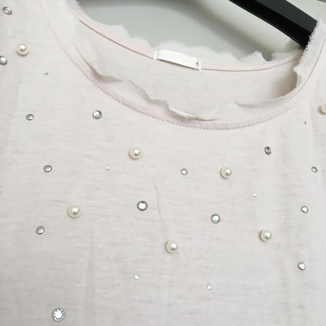 GU(ジーユー)のシャツ レディースのトップス(Tシャツ(半袖/袖なし))の商品写真