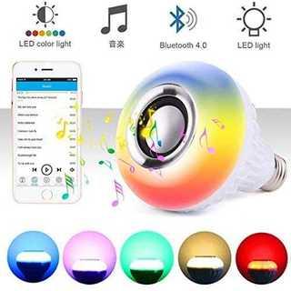 Shengshou LED電球スピーカー 高音質 音楽電球 スピーカー内蔵 調光(蛍光灯/電球)
