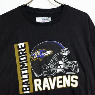 【USA古着】NFL オフィシャル スポーツ アメフロ ビッグ 半袖 Tシャツ(Tシャツ/カットソー(半袖/袖なし))