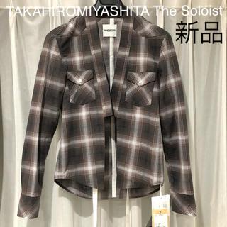 ナンバーナイン(NUMBER (N)INE)の新品 タカヒロミヤシタ ノーカラー シャツ ジャケット 定価36612円(その他)
