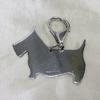ティファニー(Tiffany & Co.)のTiffany& Co シルバー キーホルダー チャーム ドッグ 犬(キーホルダー)
