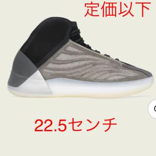 アディダス(adidas)の【新品未使用】yeezy QNTM BARIUM 22.5センチ(スニーカー)