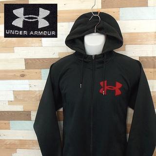 UNDER ARMOUR - 【UNDER ARMOUR】 美品 アンダーアーマー ロゴデザインパーカー MD