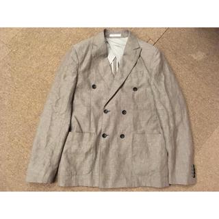 アルマーニ コレツィオーニ(ARMANI COLLEZIONI)の新品未使用 アルマーニ ジャケット リネン 46(テーラードジャケット)