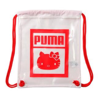 プーマ(PUMA)のプーマ × ハローキティ コラボ マルチ クリア バッグ リュック プール 海 (その他)