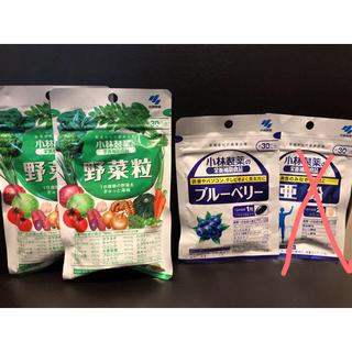コバヤシセイヤク(小林製薬)の小林製薬 野菜粒 ブルーベリー 亜鉛(ビタミン)