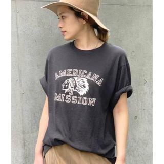 アパルトモンドゥーズィエムクラス(L'Appartement DEUXIEME CLASSE)のAP STUDIO AMERICANA アメリカーナ別注 インディアン Tシャツ(Tシャツ(半袖/袖なし))